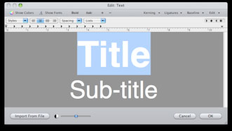 Free Titling Plug-ins for Final Cut Pro/Express, Motion, and